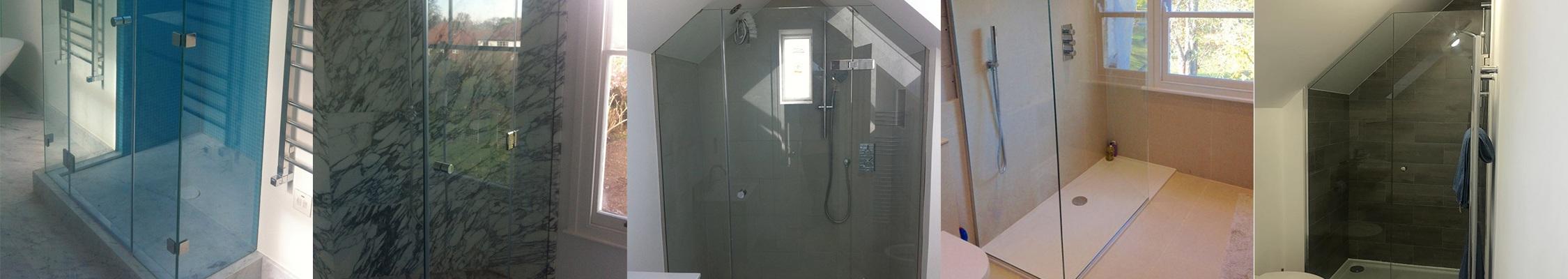 Shower screens and bathroom glazing installation